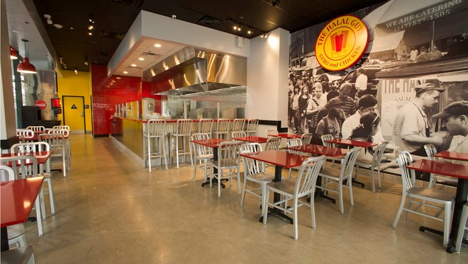 The Halal Guys will occupy a 1,500 square foot space at a retail building at 42nd and Charlotte.