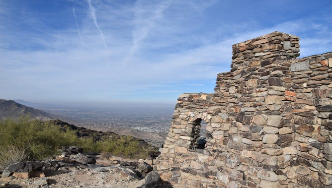 The Civilian Conservation Corps built this structure at Dobbins Lookout on South Mountain.