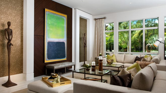 Priced at $4.25 million fully-furnished, the 5,288-square-foot Catalina model is one of 10 models by London Bay Homes available for viewing and purchase at Mediterra.