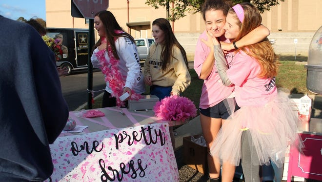 The One Pretty Dress fundraiser donates prom dresses to girls who would otherwise not be able to attend prom.