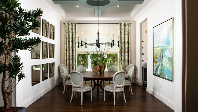 One of eight London Bay Homes' models at Mediterra being featured, the Clara model in the Cabreo neighborhood features 3,248 square feet under air.
