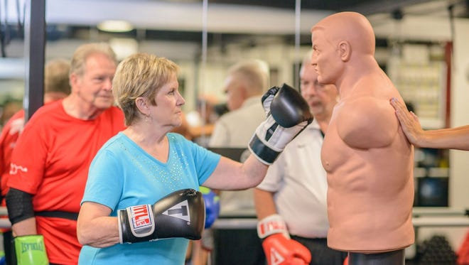 Sweat Therapy Fitness is holding an open house for Rock Steady Boxing on Sunday, April 29, during Parkinson's Awareness Month