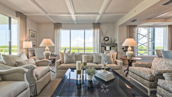 The Seaglass floor plans live more like a single-family home than a typical condominium unit.