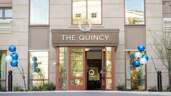 The Quincy, a luxury apartment building at 120 Neilson St. in  New Brunswick, had a reception on May 9 to celebrate its opening. Residents have been moving in since March, and the building is about 40 percent leased.