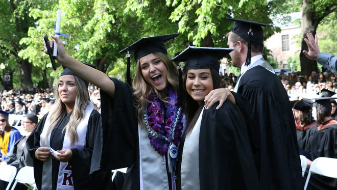 The University of Nevada, Reno commencement ceremony on Saturday morning, May 19, 2018.