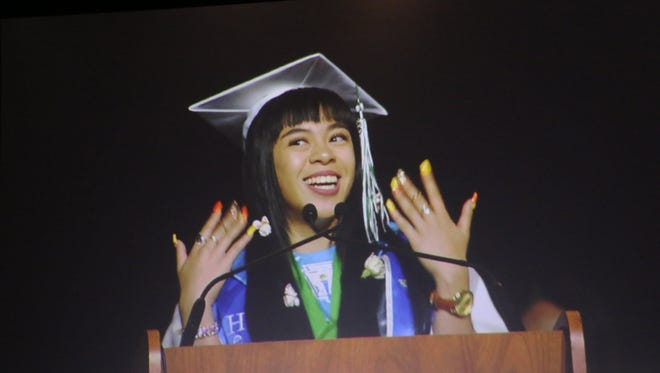 Hug High graduation ceremony at Lawlor Events Center in Reno on June 16, 2018.