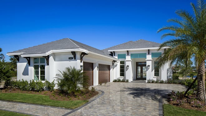 Seagate has broken ground for a new furnished model at Windward Isle featuring its Cayman II floor plan.