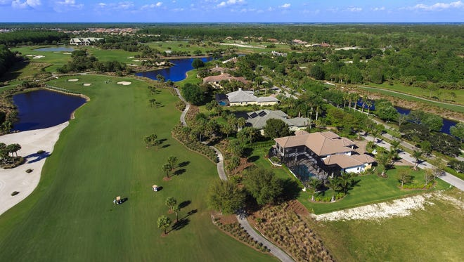 Six grand estate home sites are available in TwinEagles' Sterling Hill and Strathmore Legacy Estate neighborhoods.The sites are along the community's Talon golf course.