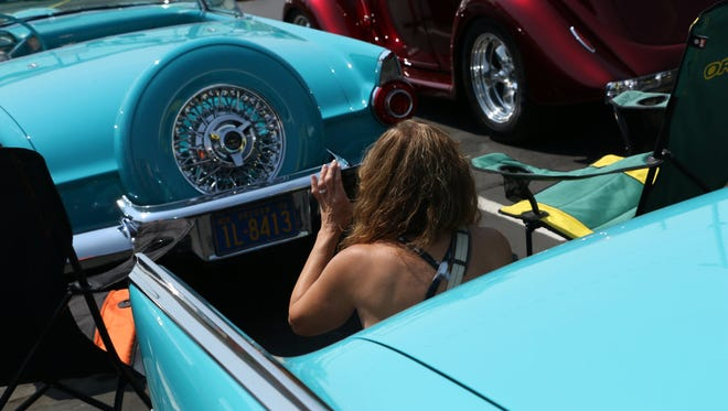 Hot August Nights Classic Specialty Car display at the Peppermill Resort in Reno on Aug. 7, 2018.