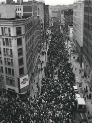 Milwaukee's biggest civil rights demonstration in history