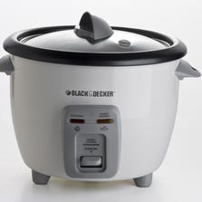 The Black & Decker 6-cup rice cooker