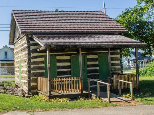 """The Log House at the Marion County Fairgrounds will be the site of one of this year's """"Blast from the Past"""" sessions. The Marion County Historical Society program for children ages eight to 12 begins July 7."""