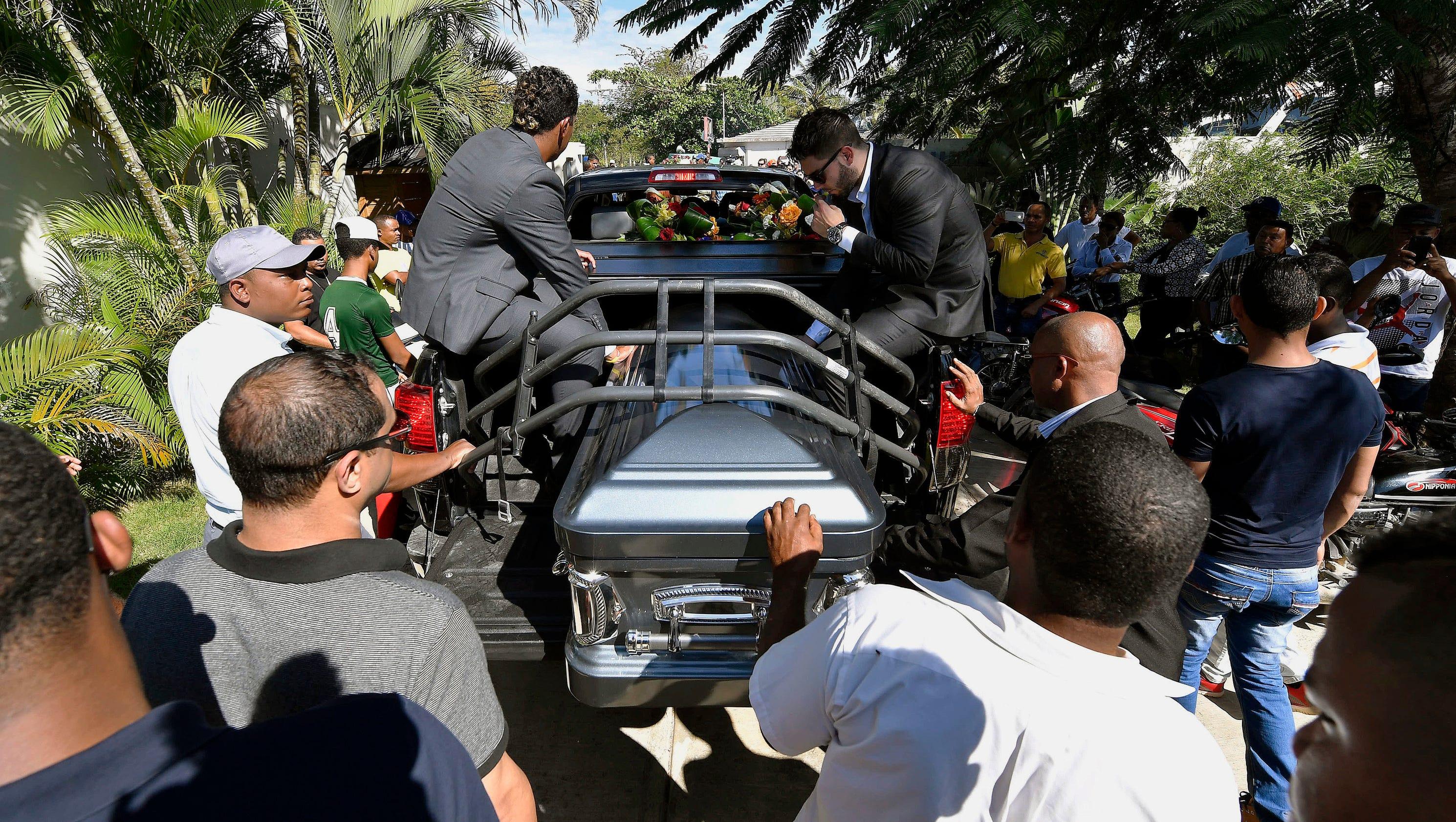 Yordano Ventura S Funeral In Dominican Republic