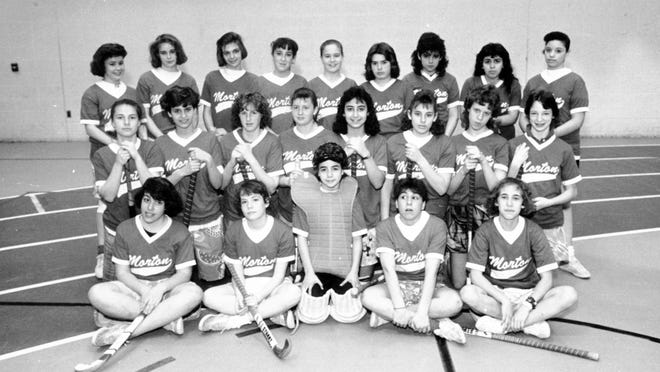Mystery Picture Solved. The 1987 Morton Middle School field hockey team, city middle school champs.