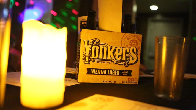 """The Yonkers Brewing Co. held their first """"blackout brunch"""" at the brewery, March 26, 2016. There were drink specials, a DJ, and lots of food."""