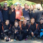 The Northville 'A' girls cross country team was runner-up in the Jackson Invitational.