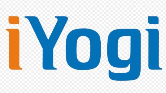 The logo of iYogi, an independent tech support company based in India which was sued by the Washington state attorney general on Dec. 16, 2015 for using deceptive scare tactics to pressure customers into buying unnecessary tech support services.