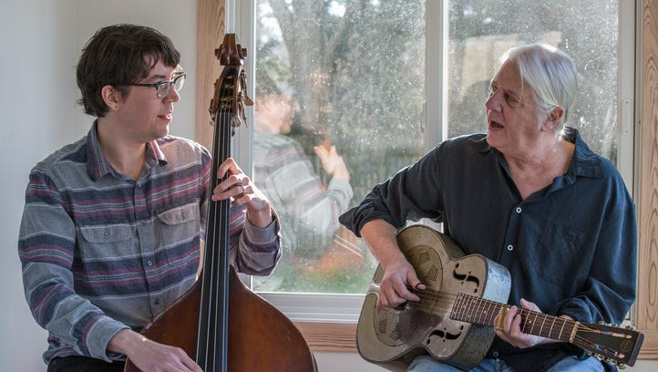 Father-son duo shares love of the blues in new album