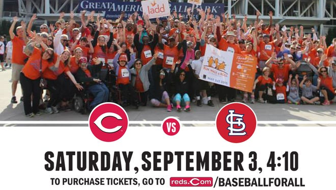 The Reds will host the inaugural #BaseballforAll event taking place at Great American Ball Park on Sept. 3