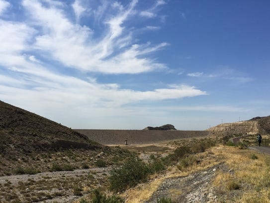 Mountain canyons, such as McKelligon Canyon, help replenish