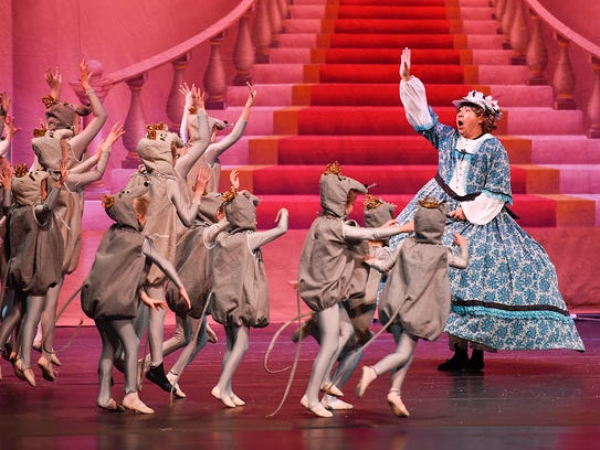 The mice are on the run during the Stroia Ballet Company's