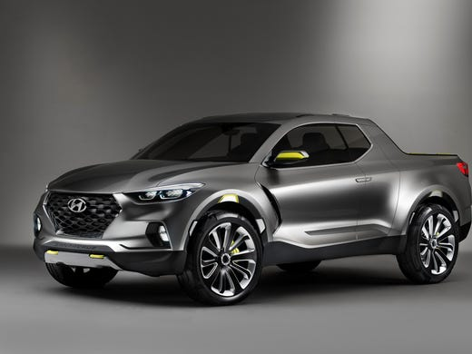 Hyundai S Santa Cruz Crossover Truck Concept Unveiled