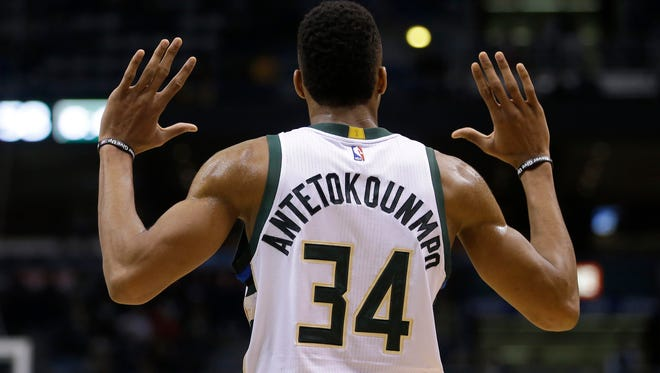 Building a monster NBA player from scratch?  Given him the hands of Milwaukee Bucks star Giannis Antetokounmpo, says Shea Serrano in an entertaining new book.