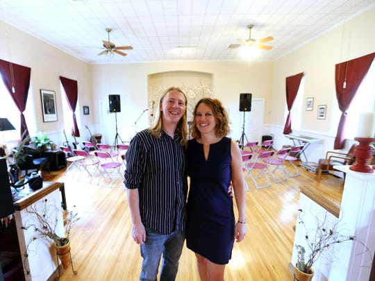 Ryan Miller and Robyn Taylor of Birdsong Studio in Woodbury.