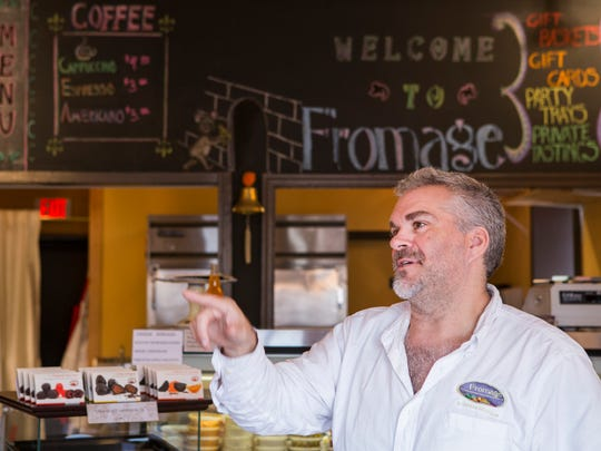 Christopher Pride owns the Fromage cheese shop in Middletown.