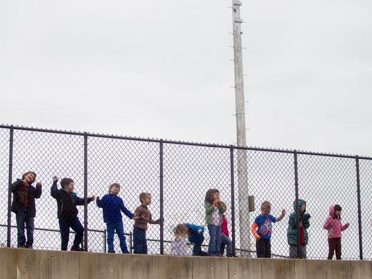 Hoover Elementary School Students