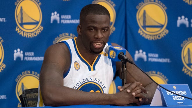 Draymond Green says the Warriors aren't worried about being booed this season.
