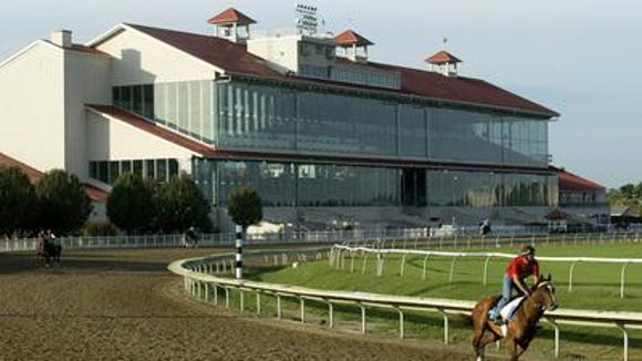 Fair Grounds Race Course &  Slots, owned by Louisville-based Churchill Downs Inc., shown in 2004.
