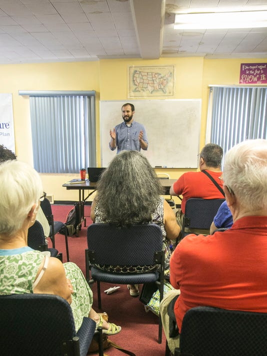 Yorkers gather to discuss 'divide-and-conquer' politics