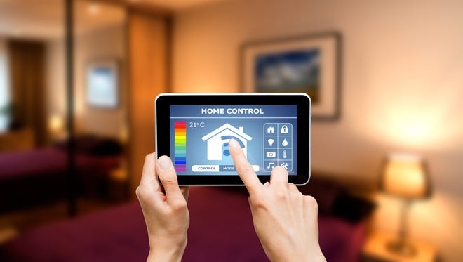 Smart homes can be programmed to react to their owner and tailored to fit with a person's lifestyle.