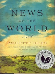 """""""News of the World"""" is a novel by Paulette Jiles."""