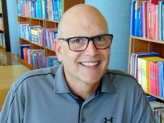 Dr. Albert Sears, professor of English at Silver Lake