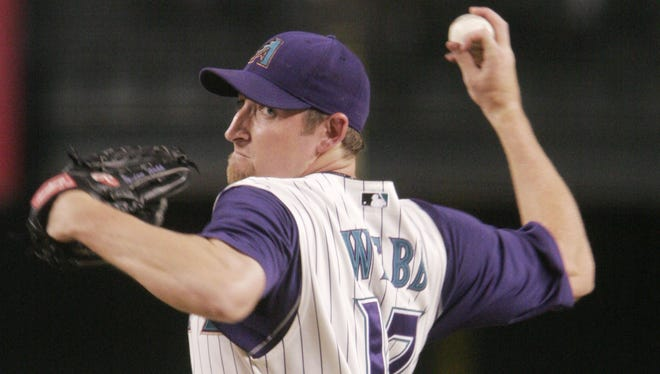 Rookie pitcher Brandon Webb was a surprise in 2003, going 10-9 with a 2.84 ERA.