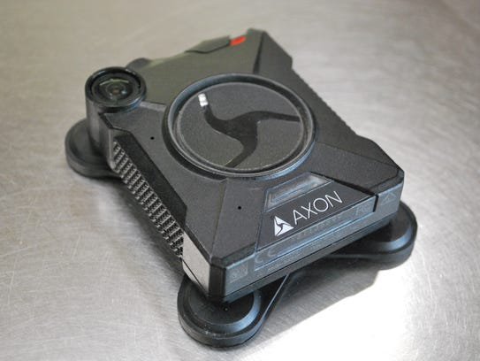 A body camera used by San Angelo's City Marshal's Office