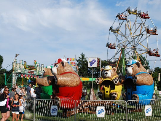 A file photo of the Morris County 4H Fair
