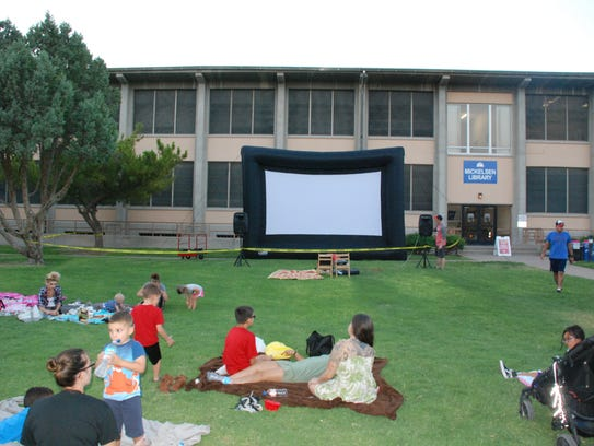 Mickelsen Community Library is showing movies on its