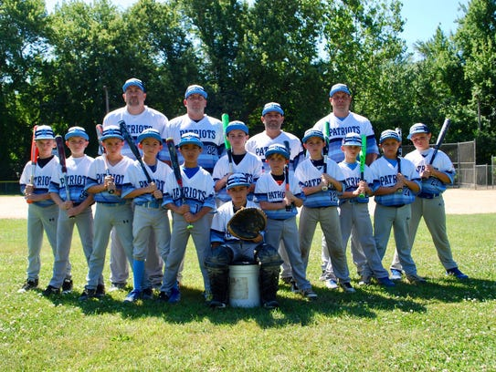 The East Fishkill Patriots 9U baseball team placed