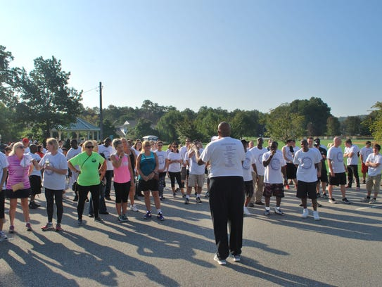 More than100 walkers participated inthe second annual