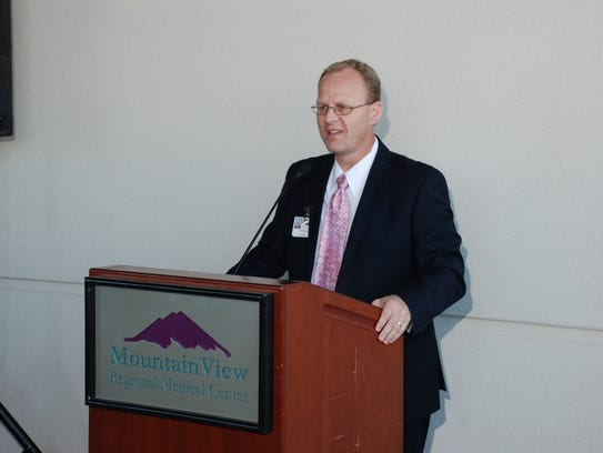 Denten Park, CEO of MountainView Regional Medical Center,