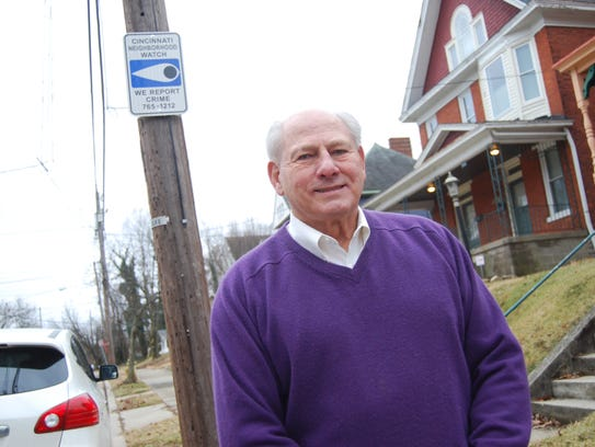 Bob Wray, a resident of the Price Hill Incline District,