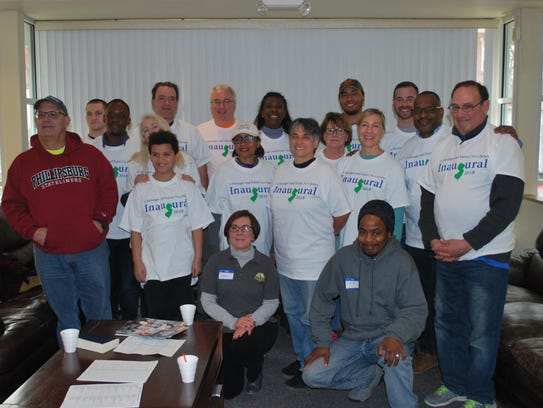 Participants of MLK Day of Care.