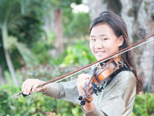 At just 12 years old, violinist Justine Xu is already