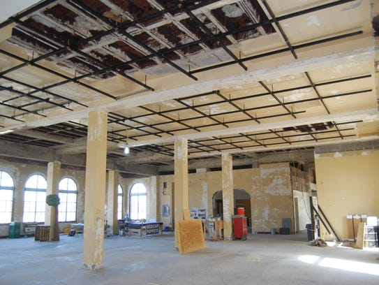 A complete rehab of the building at 3064 Harrison Ave.