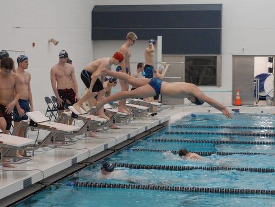 Marysville Swim Beats Cousino Stays Undefeated In Mac