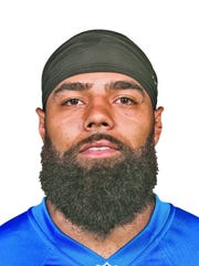 This is a 2016 photo of DeAndre Levy of the Detroit Lions NFL football team. This image reflects the Detroit Lions active roster as of Monday, June 13, 2016 when this image was taken.