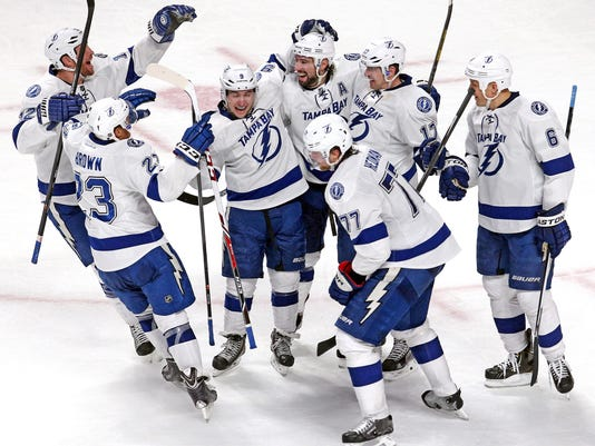 USP NHL_ Tampa Bay Lightning at Montreal Canadiens_001